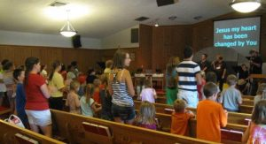 Our AWANA ministry which serves young people from kindergarden through High School. Click here to read all about our AWANA program. Our AWANA programs begins at6:45pm with grades K-8th meeting in the main sanctuary (through the front door & UP the steps) and finishing up in the Activity Building (gym). Awana is typically finished by 8:15pm.